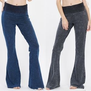SABRINE Mineral Wash Pants - 2 colors
